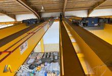 تصویر جرثقیل سقفی دو پل | قیمت ، فروش و نصب